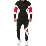 OneRedox Jogging Suit Sport Set Tracksuit Pants & Sweater Black 1215C 52009-1