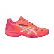 Asics Gel-Lima Padel Women Flash Coral/Silver/Rouge Red 37.5
