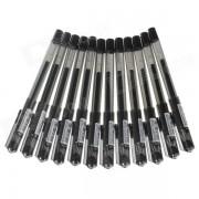 Boligrafo de gel M & G AGP11504 con cabeza de 0.38 mm - negro (12 piezas)