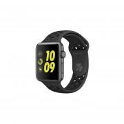 Apple Watch Nike+Procesador Dual Core S2, Pantalla OLED Retina Con ForceTouch, Wi-Fi, Bluetooth, Correa Deportiva Nike De 42mm, WatchOS 3. Color Gris MQ182CL/A