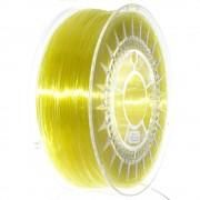 Filament Transparent Devil Design PETG pentru Imprimanta 3D 1.75 mm 1 kg - Galben Luminos