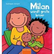 Milan wordt grote broer - Kathleen Amant