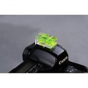 Gadget Hero's Dual Double Axis Bubble Level Gradienter Hot Shoe Canon Nikon Pentax Olympus For Any Hotshoe Flash Camera