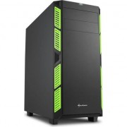 Carcasa desktop sharkoon AI7000 Silent Verde (4044951020836)