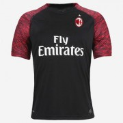 AC Milan football club polyester half sleeve black colour 18/19 away jersey