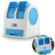 ROYALDEALSHOP MADE OF HIGH QUALITY NEW Portable Mini USB Fragrance Air Conditioner Cooling Desktop