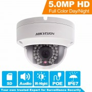 In Stock Hikvision Overseas CCTV Camera DS-2CD2152F-IS 5MP CMOS Dome Network PoE IP Camera Security IP Camera 1080P Full HD