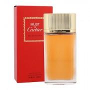 Cartier Must De Cartier Gold eau de toilette 100 ml donna