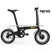 Ring Električni bicikl Mini sklopivi (RX 16-Black)