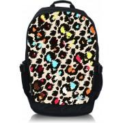 Laptop rugzak 17,3 gekleurde panterprint - Sleevy