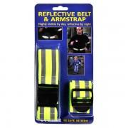Lobbes Reflecterende Riemband + Armband