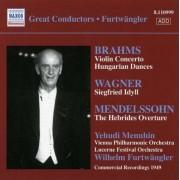 Brahms/Wagner - Furtwangler Record. Vol.6 (0636943199923) (1 CD)