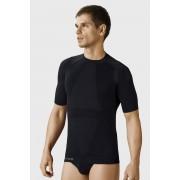 HASTER Silverfit MicroClima férfi póló, varrások nélküli fekete ML