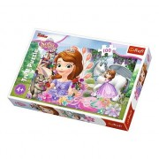 Puzzle Trefl Sofia the First, 100 piese