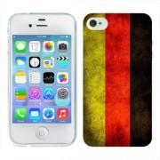 Husa iPhone 4S Silicon Gel Tpu Model Germany Flag