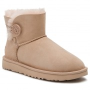 Pantofi UGG - W Mini Bailey Button II 1016422 W/Amb