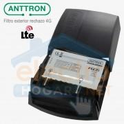 Filtro LTE 4G para uso exterior >30dB, Anttron modelo F782