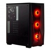 Corsair Carbide Spec-delta Rgb Mid-tower Tempered Glass Atx Gaming Case - Black Cc-9011166-ww