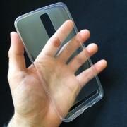 Husa ASUS Zenfone 2 ZE551ML Super Slim 0.5mm Silicon Gel TPU Transparenta