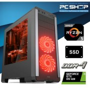 PC Računalo MagazinRS Gamer Ryzen 5 1600 Six core 3.6GHz Boost, GTX 1650 Super, 8GB DDR4 RAM, SSD 480GB