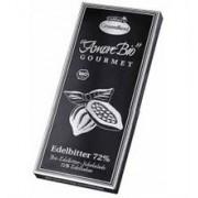 Ciocolata Bio Neagra cu 72% Cacao Liebhart's 100gr