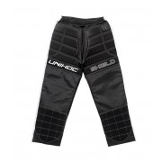 Unihoc Goalie Pants Shield Black/White SR XS