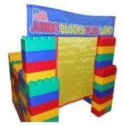 Serec Entertainment 00206-8 99 Pc Jumbo Blocks Build My Own Playland House