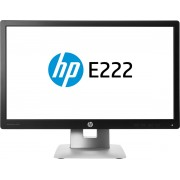 HP EliteDisplay E222 computer monitor 54,6 cm (21.5'') Full HD LED Zwart, Zilver