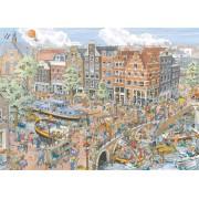 Puzzle Ravensburger - Amsterdam, 1.000 piese (19192)