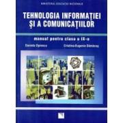 Tehnologia informatiei si a comunicatiilor manual pentru clasa a IX-a