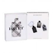 Burberry Brit Collection confezione regalo edt Brit Splash 5 ml + edt Brit Rhythm 5 ml + edt Brit Rhythm Intense 5 ml + edt Brit 5 ml Uomo