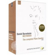 Video Delta Daniel Barenboim: Beethoven - The complete piano sonatas - DVD