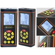 HOLDPEAK 5040H Digitális lézeres távolságmérő 0.03-40m többsoros LCD-kijelző memória IP54.