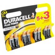 Set baterii AA Duracell DCEL500039401813 5 + 3 bucati Duralock Plus power