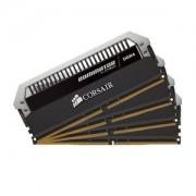 Mémoire RAM Corsair Dominator Platinum 64 Go (4x 16 Go) DDR4 3200 MHz CL16 - Kit Quad Channel 4 barrettes de RAM PC4-25600 - CMD64GX4M4C3200C16 (garantie à vie par Corsair)