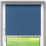 Catalea Rolety materiałowe bezinwazyjne, Zaciemniające, Na wymiar, PREMIUM, niebieskie