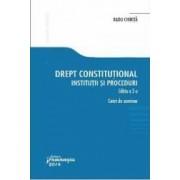 Drept Constitutional. Institutii Si Proceduri Ed. 3 - Caiet De Seminar - Radu Chirita