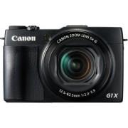 Canon PowerShot G1X Mark II Digitale camera (12,8 MP, CMOS-sensor, 5-voudige optische zoom, 1:2-3, 9, 24-mm groothoek, Full-HD) zwart