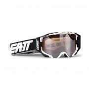 Leatt Velocity 6.5 Skoterglasögon Iriz Svart/Vit/Platinum 28%