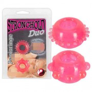 You2Toys [2 Pack] Stronghold Duo Tickler Rings Pink 0510254