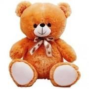 Toystation Sweet Brown 60 CM 2 Feet Teddy Bear Brown Teddy Bears Huggable And Toystation Loveable For Someone Special