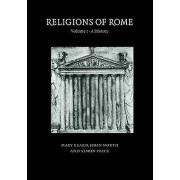 Religions of Rome Volume 1 A History by Mary Beard & John North & S...