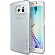 Husa telefon ringke Ringke Frost Slim Case pentru Samsung Galaxy S6 Edge Frost Gray