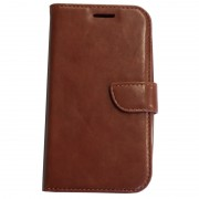 Galaxy Core Plus hoesje bruin