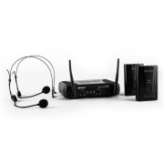 Skytec STWM712H set micro VHF sans fil 2 casques