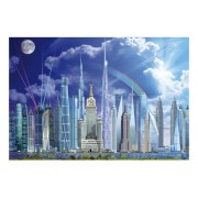 Puzzle Educa - Tall Buildings, 1.000 piese (16287)