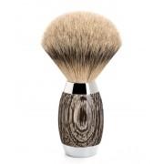 Mühle Edition No. 3 Bog Oak & Sterling Silver Silvertip Badger