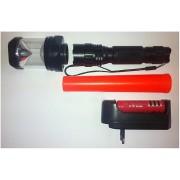 Lanterna reincarcabila 3in1 LED 1W cu Con Semnalizare