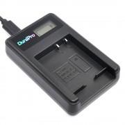 DuraPro LCD USB Batterij Lader voor Panasonic DMW-BLE9 DMW-BLG10 DMW BLG10 BLE9 Lumix DMC-GF3 DMC-GF5 DMC-GF6 DMC-GX7 DMC-LX100