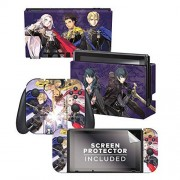 """Controller Gear Authentic and Officially Licensed Fire Emblem """"Three Houses"""" Nintendo Switch"""